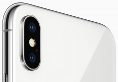 Lens on iPhone X.