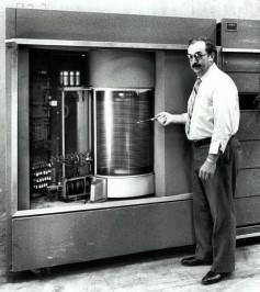 IBM 350 Hard Disk Drive, 1956.