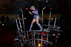 Lady Gaga Half-Time Show at Super Bowl LI.