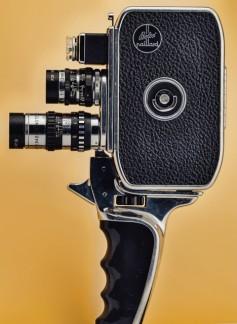 Bolex 16mm camera.  Photo by Marcus Bengtsson.