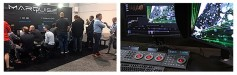 At Marquis Technology's NAB 2017 exhibit visitors saw MIST and ICE in action. Click to enlarge.