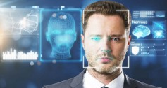 Facial recognition can determine not only identity, but also mood.