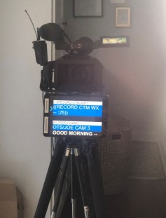 The prompter feed for one station's home studios is an IP stream from a repurposed spare security system encoder.