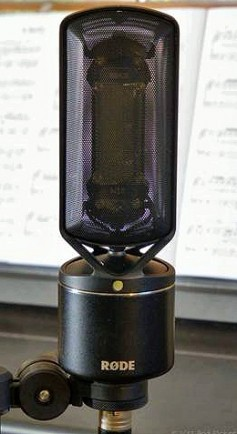 Rode NTR ribbon Mic, $799