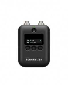 Sennheiser SK 6212 mini-transmitter bodypack. Click to enlarge.