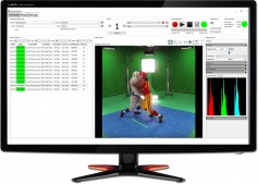 StudioCap management software gives you live video streaming with focus assist and production database integration.
